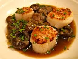 cuisine trotter trotter s sautéed sea scallops with mushrooms holistic