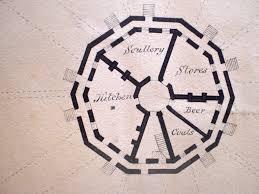 flat round house floor plans