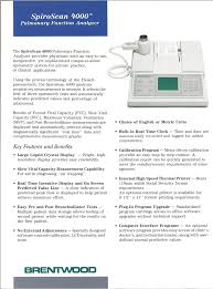 rise of the electronic spirometer pft history