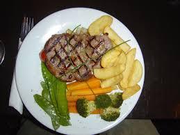 cuisine steak file sirloin steak jpg wikimedia commons