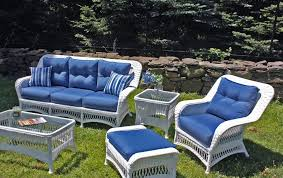 Stunning White Wicker Outdoor Furniture Patio  Resin Wicker - Outdoor white wicker furniture