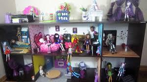 my monster high doll house 2014 simplekidscrafts youtube