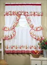 Kitchen Curtain Patterns Inspiration Fabulous Kitchen Curtain Patterns Inspiration With Kitchen Curtain
