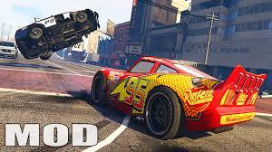 modded sports cars lightning mcqueen fredwalkthrough edition gta5 mods com