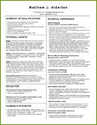 Example Resume For A Job by Freelance Writer Resume Berathen Com