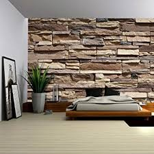 Wallpapers Home Decor Amazon Com Wall26 Modern Neutral Colored Brick Pattern Wall