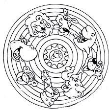 printable 35 animal mandala coloring pages 5593 mandala coloring