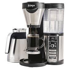 ninja coffee bar clean light keeps coming on ninja coffee bar coffee maker with thermal carafe target