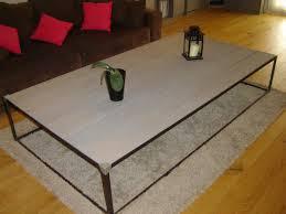 Table De Salon Industrielle by Table Basse Acier Industriel Open Table Basse Plateau Relevable