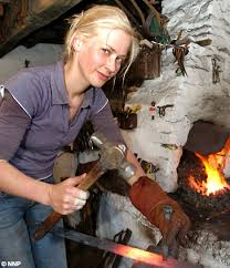 she s the blacksmith daily mail