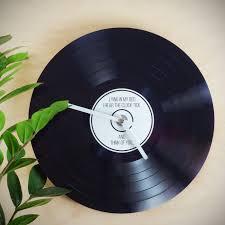 horloge a personnaliser personnalisable vinyle