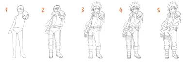 tutorial naruto naruto fullbody tutorial by sie tje on deviantart
