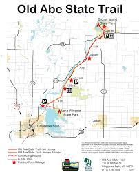Wisconsin Dnr Lake Maps by Day Hiking Trails Trail Heads Along Chippewa River Reservoir
