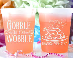 thanksgiving cups thanksgiving cups etsy