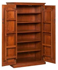 Spice Cabinets With Doors Pantry Cabinets For All Amish Craftsman