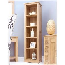 mobel solid oak furniture tall narrow office bookcase ebay