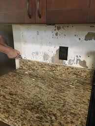 kitchen granite backsplash easy removal of granite backsplash hometalk