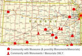 Map Of Ks The Kansas Aviation Centennial Atlas Of Kansas Aviation History
