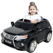 lexus deals on new cars kalee lexus rx350 12 volt battery powered ride on black walmart com