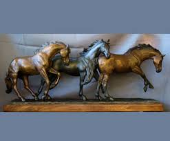 horse statues for home decor bronze horse statues and western bronze sculptures bronze horses