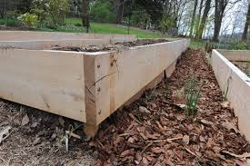gardening on uneven ground leveling raised beds a way to garden