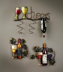 unique wine themed wall art 68 about remodel silverware wall art