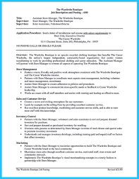Resume Sample Office Manager by Resume Samples Assistant Store Manager