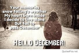 welcome december quotes images texts