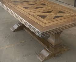 trestle base dining table dining table trestle base fine stratford parquet carved 84 jesanet com