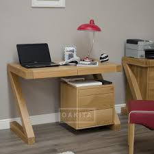 Small Desk Zurich Oak Small Desk Oak Home Office Furniture Oak Furniture