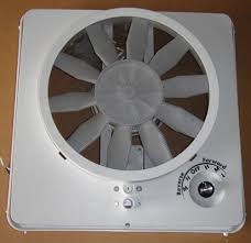amazon com rv roof vent vortex ii ugrade kit multi speed fan