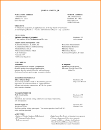 Example Of Medical Resume by Sample Resume For Co Op Student Free Resume Example And Writing