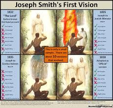 Joseph Smith Meme - mormon infographics joseph smith s first vision and his