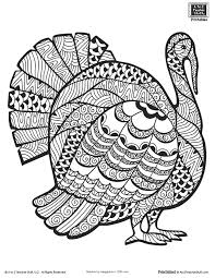 turkey color page preschool coloring pages for thanksgiving