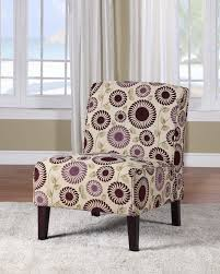 Floral Chairs For Sale Design Ideas Purple Floral Slipper Chair Ojcommerce