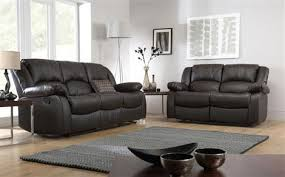 dakota leather recliner sofa suite 3 2 seater brown only 899 98