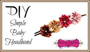 hair bow supplies diy simple baby headband hairbow supplies etc