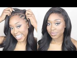 tutorial for black bonded weave hairstyles how to make a lace frontal wig tutorial no hair out no glue