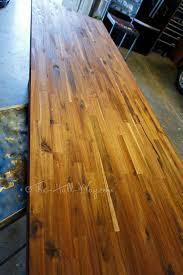 acacia bar desk the hall way acacia butcher block