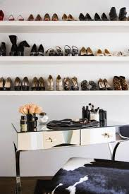 Small Walk In Closet Design Idea With Shoe Storage Shelving Unit 45 Best Closet Goals Images On Pinterest Dresser Closet Space