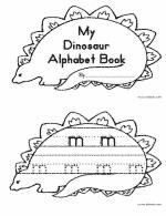 dinosaur cut and paste activity