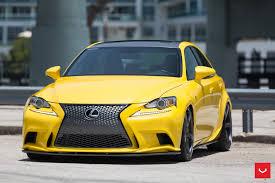 lexus is350 custom lfa yellow lexus is 350 sits on vossen wheels autoevolution
