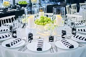 black and white table settings design ideas black and white table settings photo from