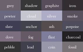 shades of gray grey paint colors different shades of names cool architecture