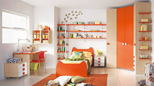 boys headboard ideas kids bedroom interactive orange kid bedroom decoration using