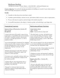 cosmetology resume template cosmetology resume template cosmetology resumes sle resume for
