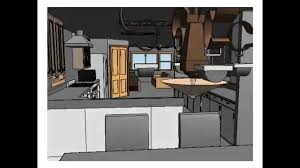 Walk Through Kitchen Designs Revit Kitchen Design Walkthrough By Tummanan Chaitripob Youtube