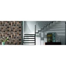 Stone Mosaic Tile Sheets Crystal Backsplash Fireplacde Border Wall - Stone glass mosaic tile backsplash