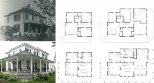 historic farmhouse plans free floor modern expand 200 year old