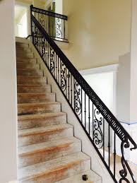 handrails copper vein custom iron works